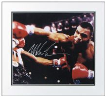 Mike Tyson Autograph Signed Photo Boxing